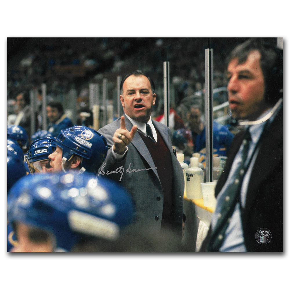Scotty Bowman Autographed Buffalo Sabres 8X10 Photo