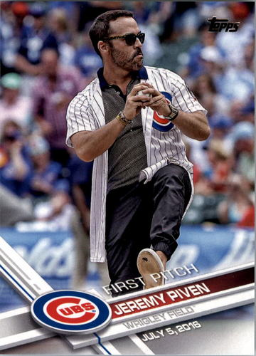 Photo of 2017 Topps First Pitch #FP4 Jeremy Piven