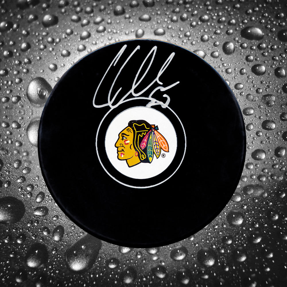 Corey Crawford Chicago Blackhawks Autographed Puck