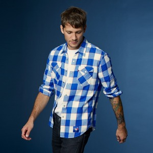 Toronto Blue Jays Buffalo Western Plaid Shirt by Levi's