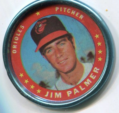 Photo of 1971 Topps Coins #90 Jim Palmer