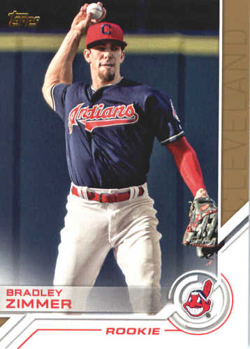 Photo of 2017 Topps Update Salute #USS23 Bradley Zimmer