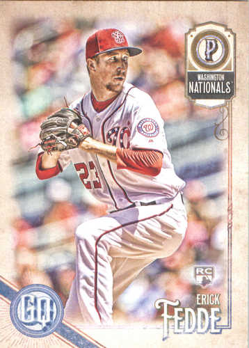 Photo of 2018 Topps Gypsy Queen #193 Erick Fedde RC