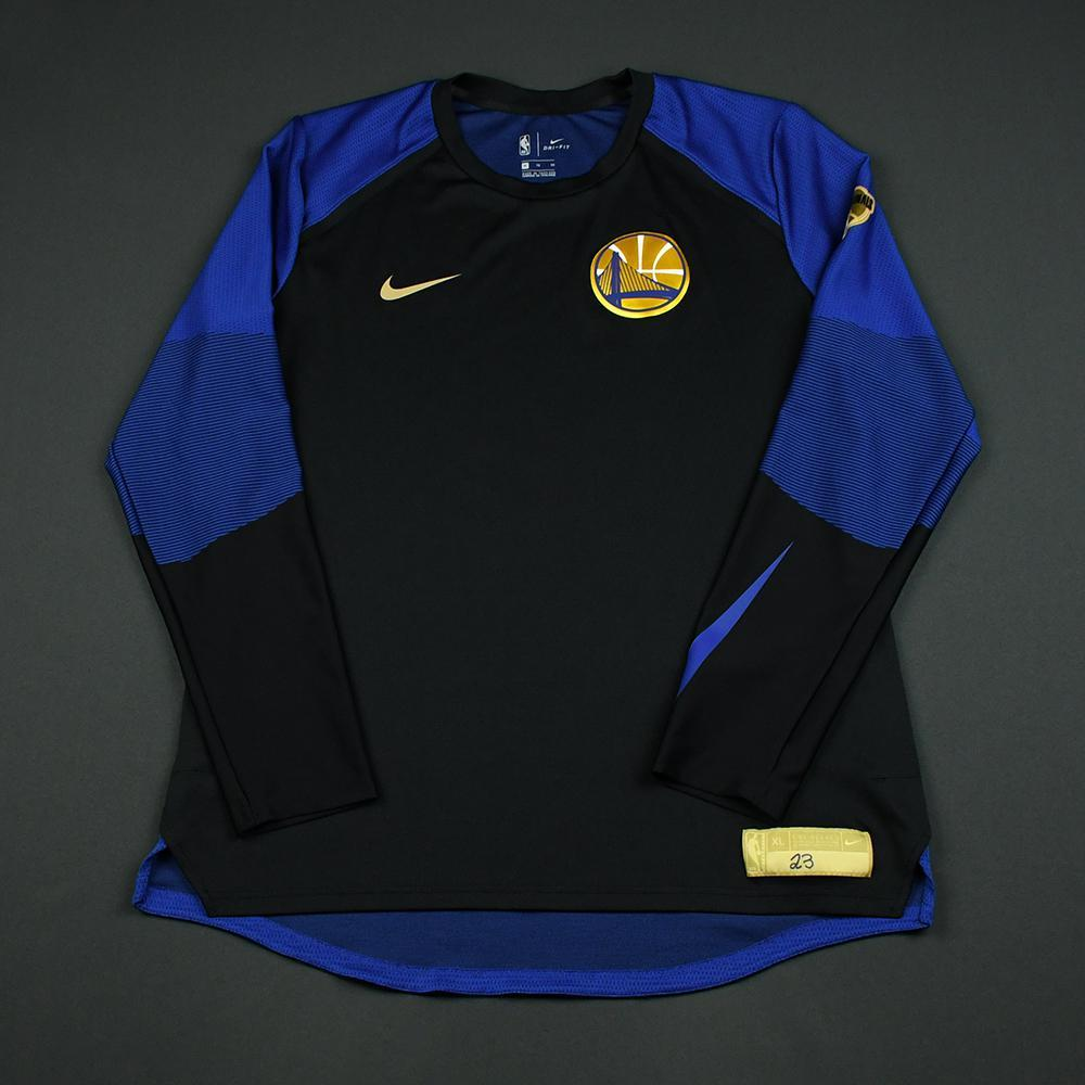 Draymond Green - Golden State Warriors - 2018 NBA Finals - Game-Issued Shooting Shirt