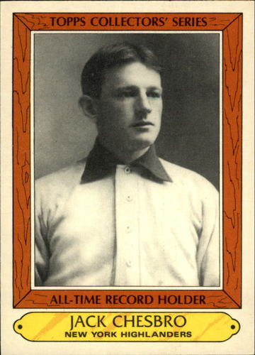 Photo of 1985 Woolworth's Topps #7 Jack Chesbro Hall of Fame Class of 1946