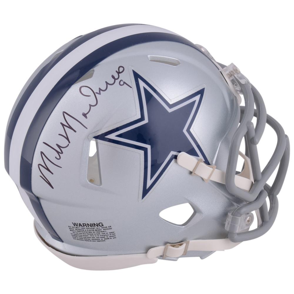 Mike Modano Dallas Stars Autographed Dallas Cowboys Mini Helmet