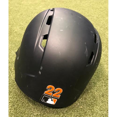 Game-Used Helmet: Sandy Alcantara - Size 7 1/4
