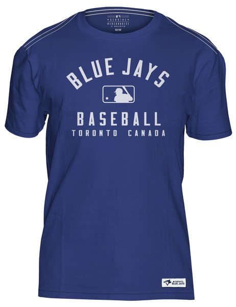 Toronto Blue Jays Genuine Soft Royal T-Shirt by Bulletin