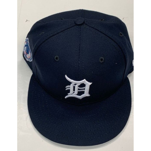 Photo of Game-Used Jack Morris Number Retirement Ceremony Cap: Buck Farmer