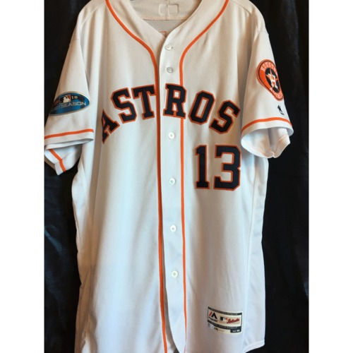 Photo of Tyler White 2018 Game-Used ALDS/ALCS Jersey