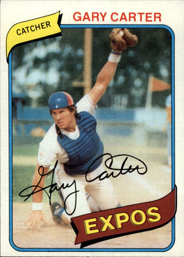 Photo of 1980 Topps #70 Gary Carter
