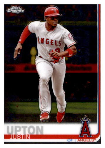 Photo of 2019 Topps Chrome #72 Justin Upton