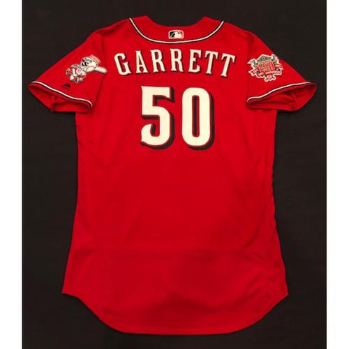 Amir Garrett -- Game-Used