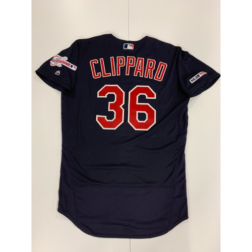 Photo of Tyler Clippard 2019 Team Issued Alternate Road Jersey
