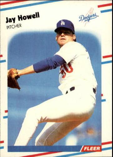 Photo of 1988 Fleer Update #95 Jay Howell