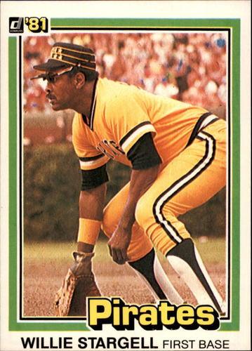 Photo of 1981 Donruss #12 Willie Stargell