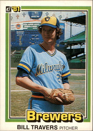 Photo of 1981 Donruss #508 Bill Travers