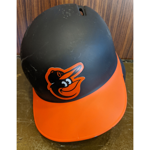 Photo of Trey Mancini - Team-Issued Road Batting Helmet