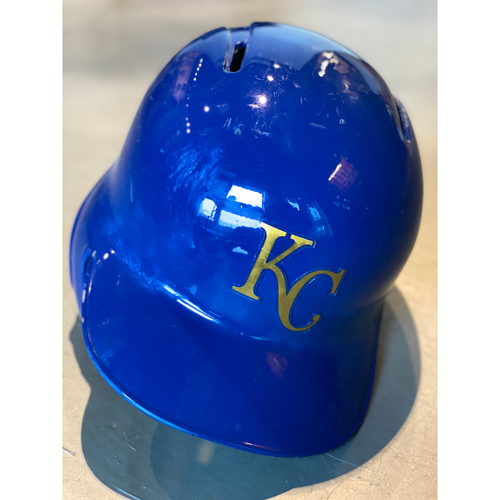 Photo of Game-Used Helmet: Brett Phillips (Size 7 3/8 - MIN @ KC - 9/27/19)