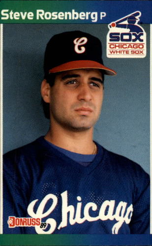 Photo of 1989 Donruss #219 Steve Rosenberg