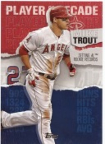 Photo of 2020 Topps Player of the Decade Mike Trout #MT5 Mike Trout