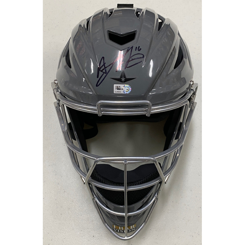 Photo of 2020 Cyber Monday Sale - #16 Aramis Garcia Team Issued Autographed Gray Catchers Mask