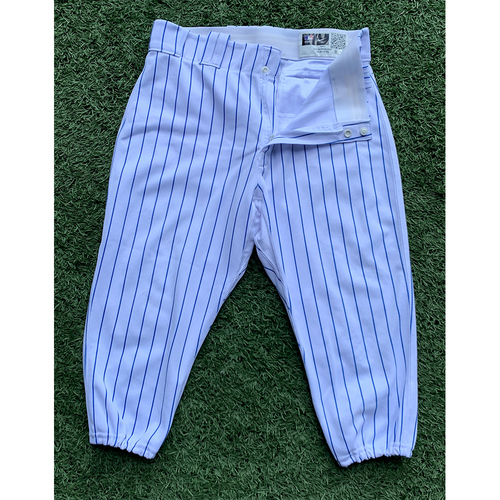 Photo of Pete Alonso #20 - Team Issued White Pinstripe Pants - 2021 Season