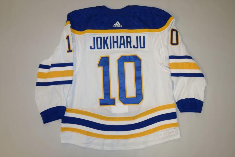 Henri Jokiharju 2020-21 Buffalo Sabres Set 2 Away Jersey