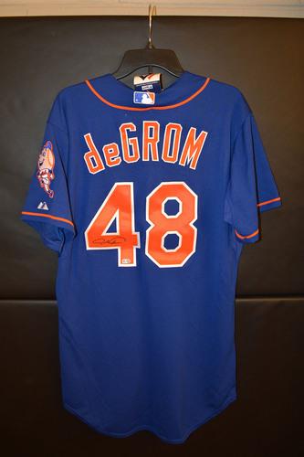 new product 6b59c 8991e MLB Auctions | Amazin' Auction: Jacob deGrom Autographed ...