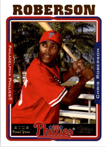 Photo of 2005 Topps #312 Chris Roberson FY RC