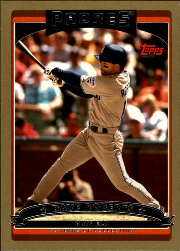 Photo of 2006 Topps Gold #166 Dave Roberts