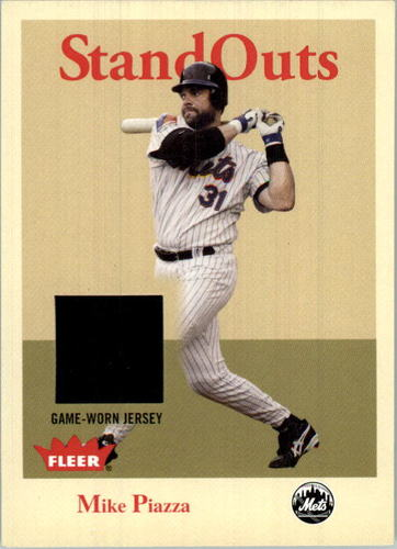 Photo of 2005 Fleer Tradition Standouts Jersey #MP Mike Piazza
