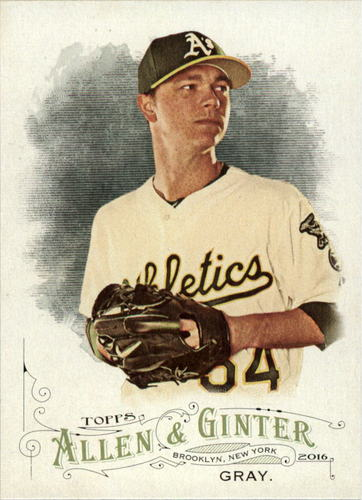 Photo of 2016 Topps Allen and Ginter #267 Sonny Gray -- Yankees post-season
