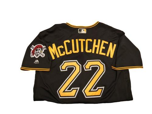 #22 Andrew McCutchen Game-Used Black Alternate Jersey - Worn on 4/24/17