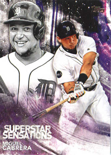 Photo of 2018 Topps Superstar Sensations #SSS17 Miguel Cabrera