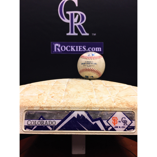 Photo of Giants vs. Rockies Bundle - Story Home Run - First Base Innings 1-3 - 6/16/17