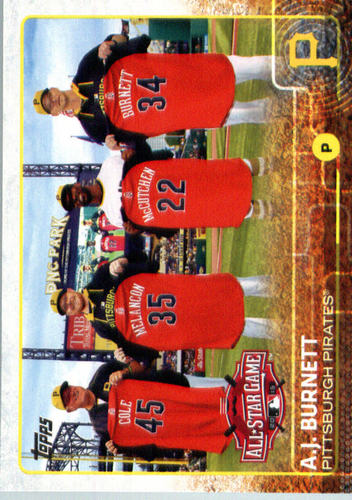 Photo of 2015 Topps Update #US343 A.J. Burnett