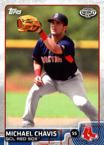 Photo of 2015 Topps Pro Debut #66 Michael Chavis