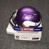 NFL - Vikings Adam Thielen signed Vikings mini helmet
