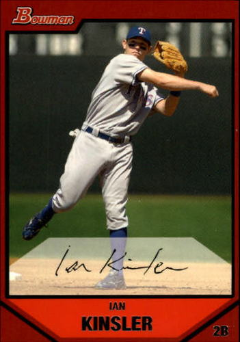 Photo of 2007 Bowman #18 Ian Kinsler