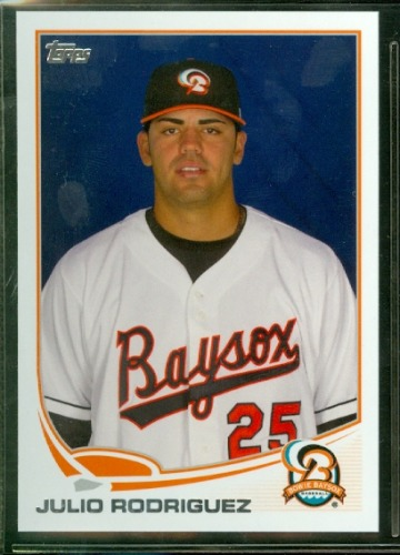 Photo of 2013 Topps Pro Debut #183 Julio Rodriguez
