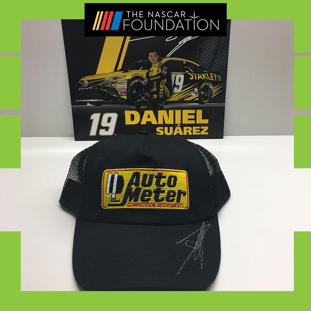 NASCAR's Daniel Suarez Autographed Hat!