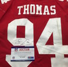 Crucial Catch - 49ers Solomon Thomas Signed Game Used Jersey Size 44 (10.7.2018)