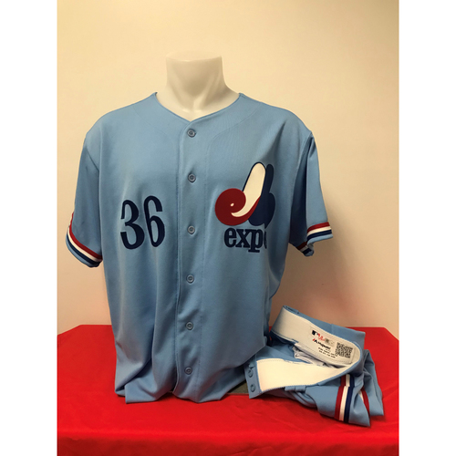 Photo of Tony Sipp Expos Gear: Game-Used Jersey and Game-Used Pants