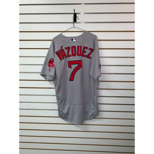 Photo of Christian Vazquez Team Issued Road Jersey