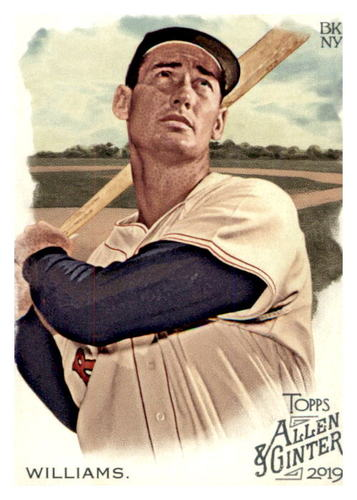 Photo of 2019 Topps Allen and Ginter #98 Ted Williams