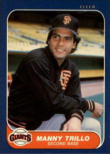 Photo of 1986 Fleer #551 Manny Trillo