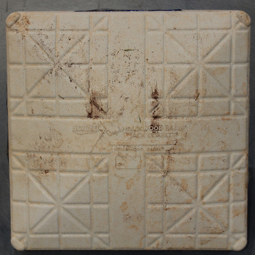 Photo of Game-Used 3rd Base: Jorge Soler 47th Home Run of 2019 Season (Innings 6-9 - MIN @ KC - 9/28/19)