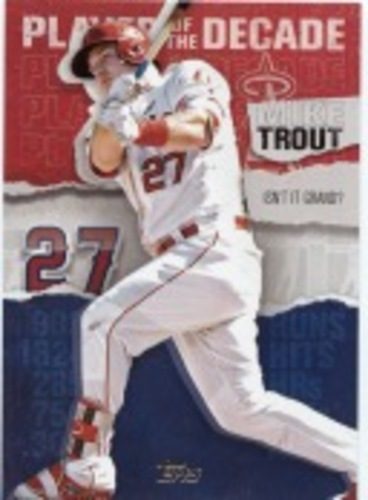 Photo of 2020 Topps Player of the Decade Mike Trout #MT19 Mike Trout