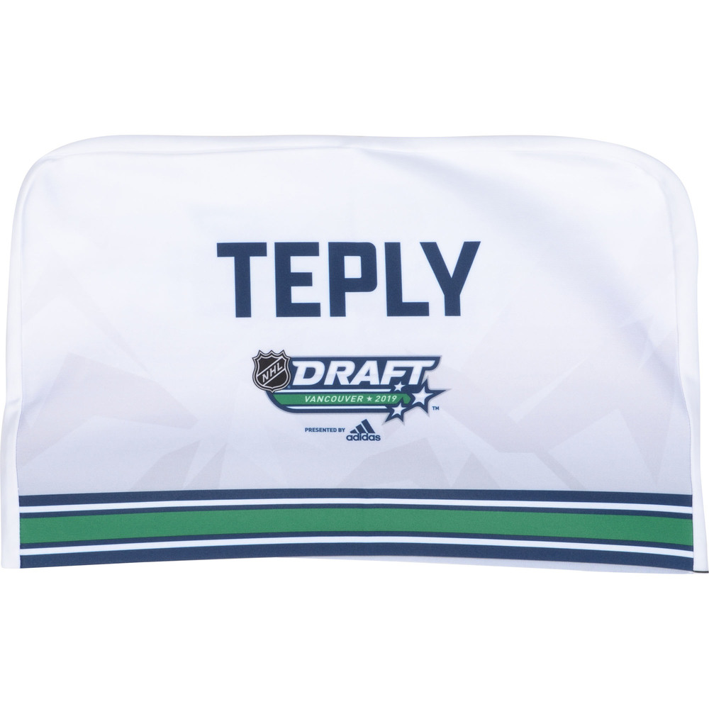 Michal Teply Chicago Blackhawks 2019 NHL Draft Seat Cover - Second set (Not Used)